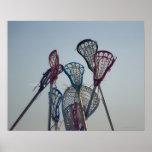 Detalhes de jogo do Lacrosse Pôsteres