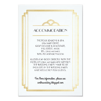 Detalhes dos cartões de casamento da acomodação do