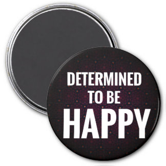 Determinado ser ímã feliz imã