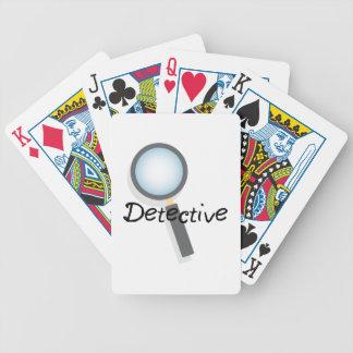 Detetive Baralho Para Poker