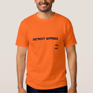 Detroit expresso, 1978-1980 tshirts