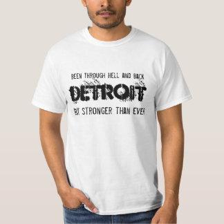 Detroit - mais fortemente do que nunca - luz camiseta
