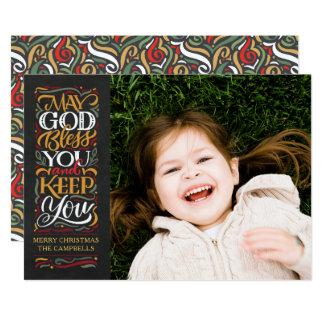 Deus abençoe de maio você cartão de Natal