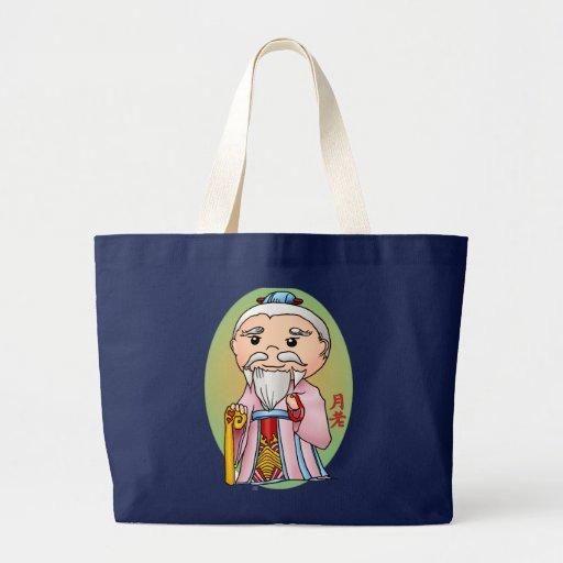 Deus chinês bonito do amor bolsa