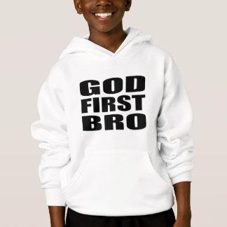 DEUS cristão PRIMEIRO BRO do roupa