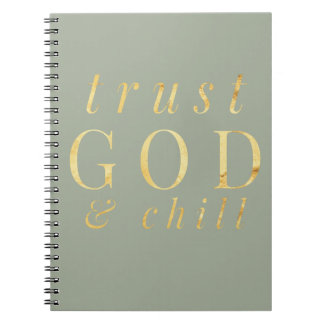 Deus da confiança e caderno da religião do frio