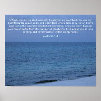 Deus de O, você é meu deus Poster
