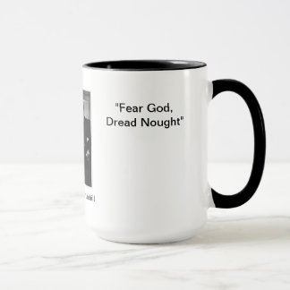 Deus do medo, Nought de Dred - caneca das citações