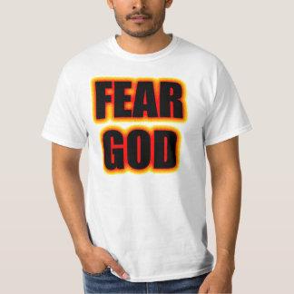 Deus do medo tshirt