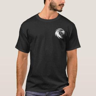 Deus do obrigado eu sou um ateu (preto T) Camiseta