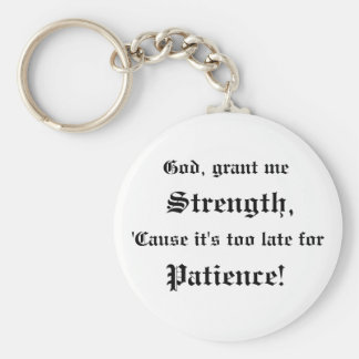 Deus, Grant mim chaveiro da força