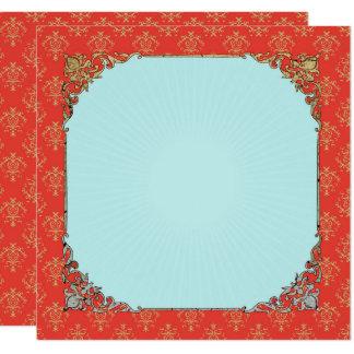 Deus indiano de GANESHA - cartão do convite