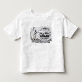 Deus que cria o mundo pelo compasso t-shirts