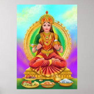 Deusa de Annapoorna do poster