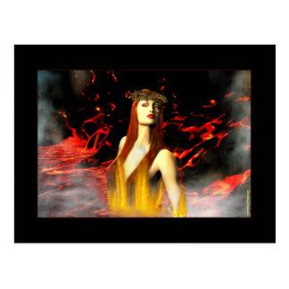 Deusa de cartão do fogo