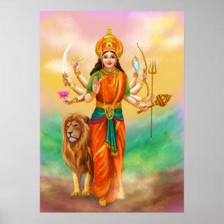 Deusa de Durga Pôster