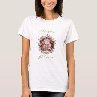 Deusa de Gangsta - o t-shirt básico das mulheres Camiseta