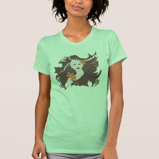 Deusa verde - hemerocallis camiseta