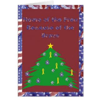 Devido ao cartão de Natal bravo