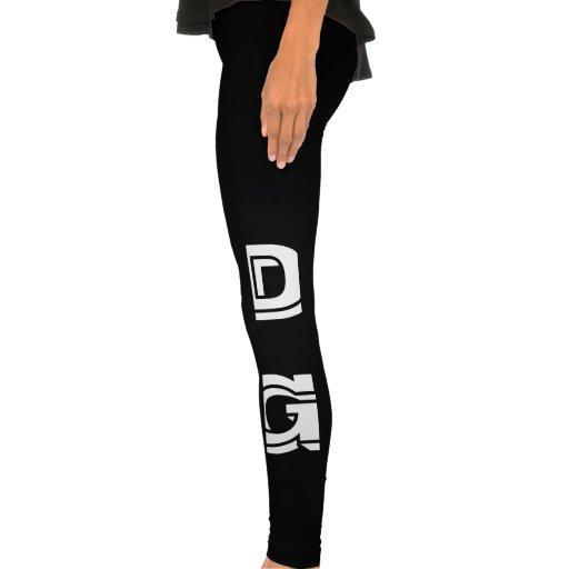 DG - Narcótico Girl$ (caneleiras) Calças Legging