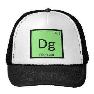 Dg - O golfe do disco ostenta o símbolo do element Boné