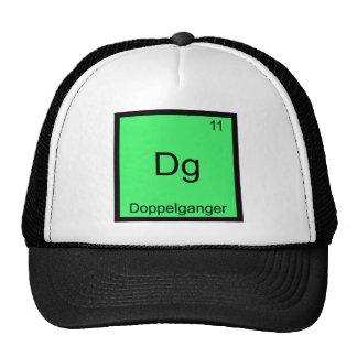 Dg - Símbolo engraçado do elemento da química de D Boné