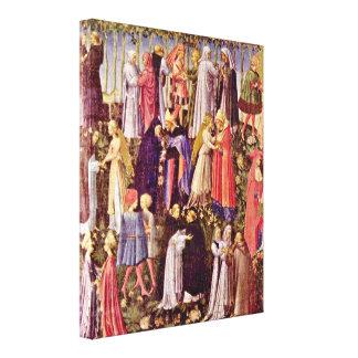 Di Grazia de Giovanni di Paolo - paraíso Impressão Em Tela Canvas