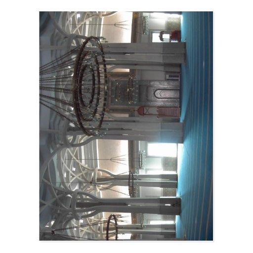 Di sumários Roma de Moschea: pri do sala do della  Cartoes Postais