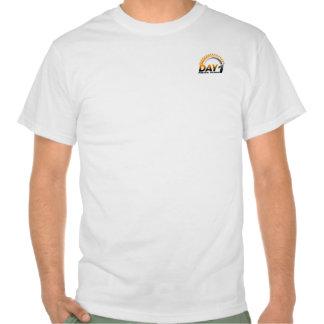 Dia camisa de um valor de 1 pinta camiseta