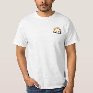 Dia camisa de um valor de 1 pinta t-shirt