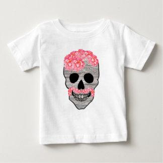 Dia cor-de-rosa do hipster do bigode da flor do tshirts