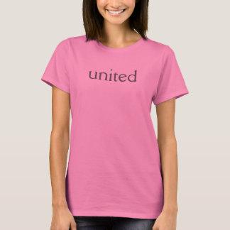 """dia cor-de-rosa """"unido"""" do t-shirt camiseta"""