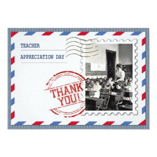 Dia da apreciação do professor. Cartões Convite