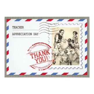 Dia da apreciação do professor. Cartões Convites Personalizados