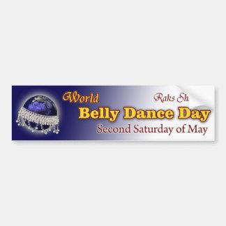 Dia da dança do ventre do mundo-- Em segundo sábad Adesivo Para Carro