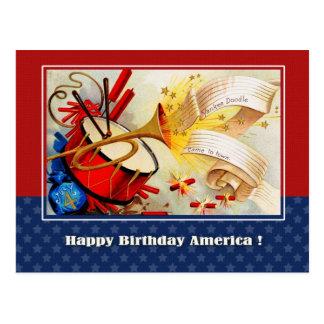 Dia da Independência, 4o de cartão de julho