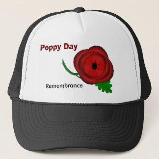 Dia da papoila, boné da relembrança