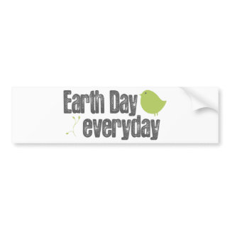 Dia da Terra cada dia! adesivos de carro