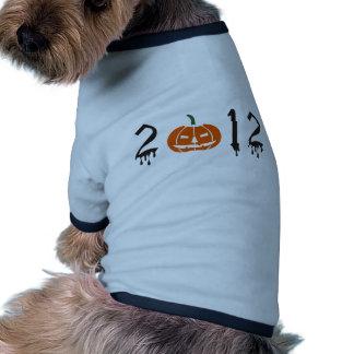 Dia das bruxas 2012 roupa pet