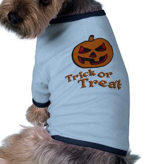 Dia das bruxas Pumpkin Camiseta Para Caes