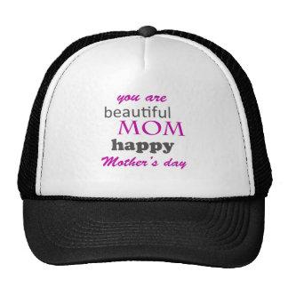 dia das mães boné
