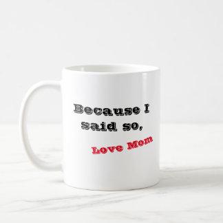 Dia das mães caneca de café