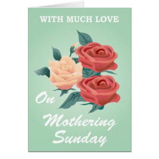 Dia das mães cartão comemorativo