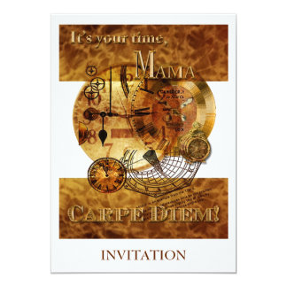 Dia das mães de Carpe Diem Convite 12.7 X 17.78cm