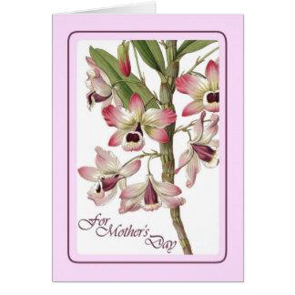 Dia das mães do vintage cartões