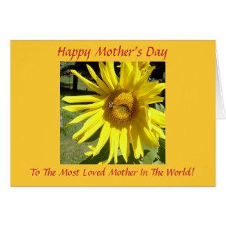 Dia das mães feliz, á maioria de L… Cartao