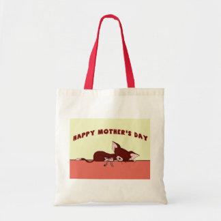 Dia das mães feliz bolsa para compra