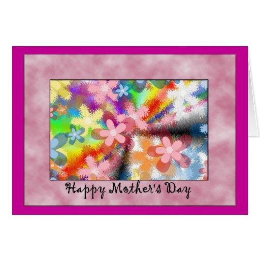 Dia das mães feliz cartao