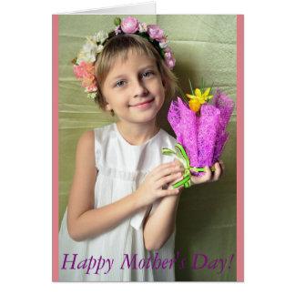 Dia das mães feliz! cartão comemorativo