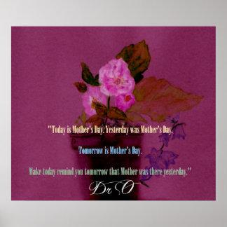 Dia das mães - poster